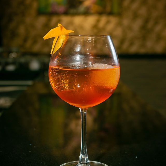 You made it: hump day. Treat yourself to a cheeky cocktail - our Coffee Aperol Spritz is infused with clarified Vietnamese Robusta, a subtle pick-me-up to get your though the night. ⠀ ⠀ Try it tonight at Happy Hour - 4-7pm, with 2-for-1 on selected tapas and 50% off cocktails & wine by-the-glass. ⠀ ⠀ KNICK KNACK, 24Bis Dong Du, D1, Saigon.⠀ ⠀ #knickknacksaigon #vietnam #nam #saigon #saigoncity #saigonlife #somewhereinsaigon #saigonese #vscosaigon #saigoncocktails #saigonfood #saigonfoodie #hcm #hcmc #bar #restaurant #eatery #cocktails #cocktailbar #retro #menu #food #drinks #happyhour #tapas #rooftop #sunset