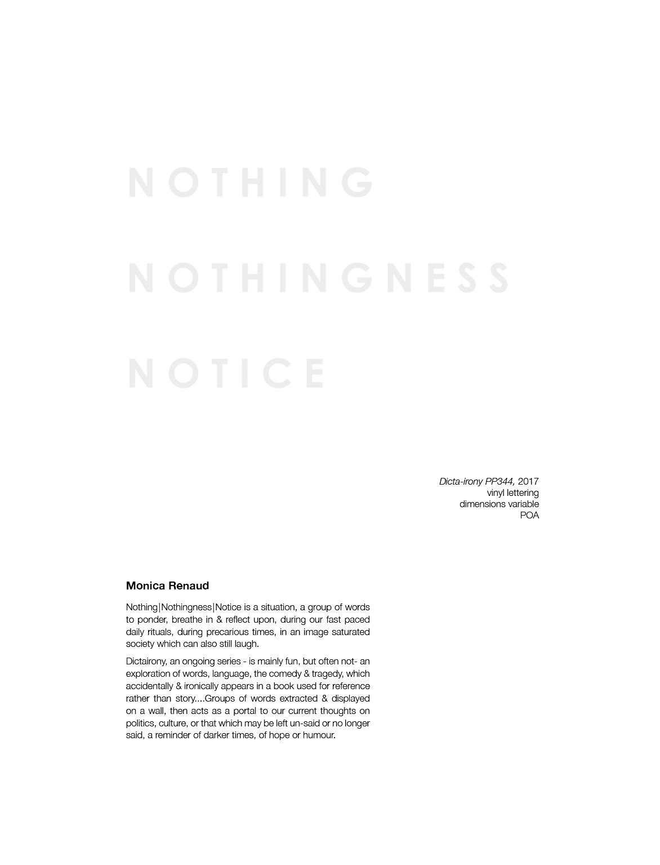 Dicta Irony PP344, Catalogue page, 2017