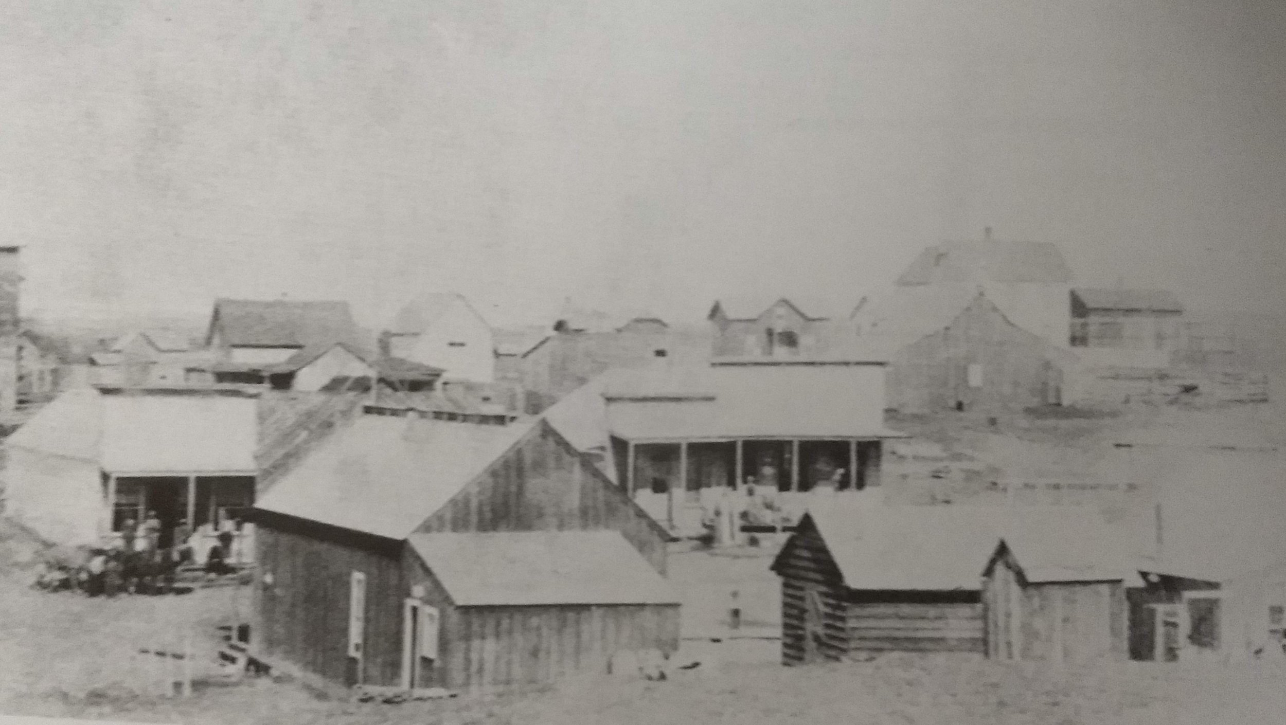 Main Street Condon, OR circa 1890.