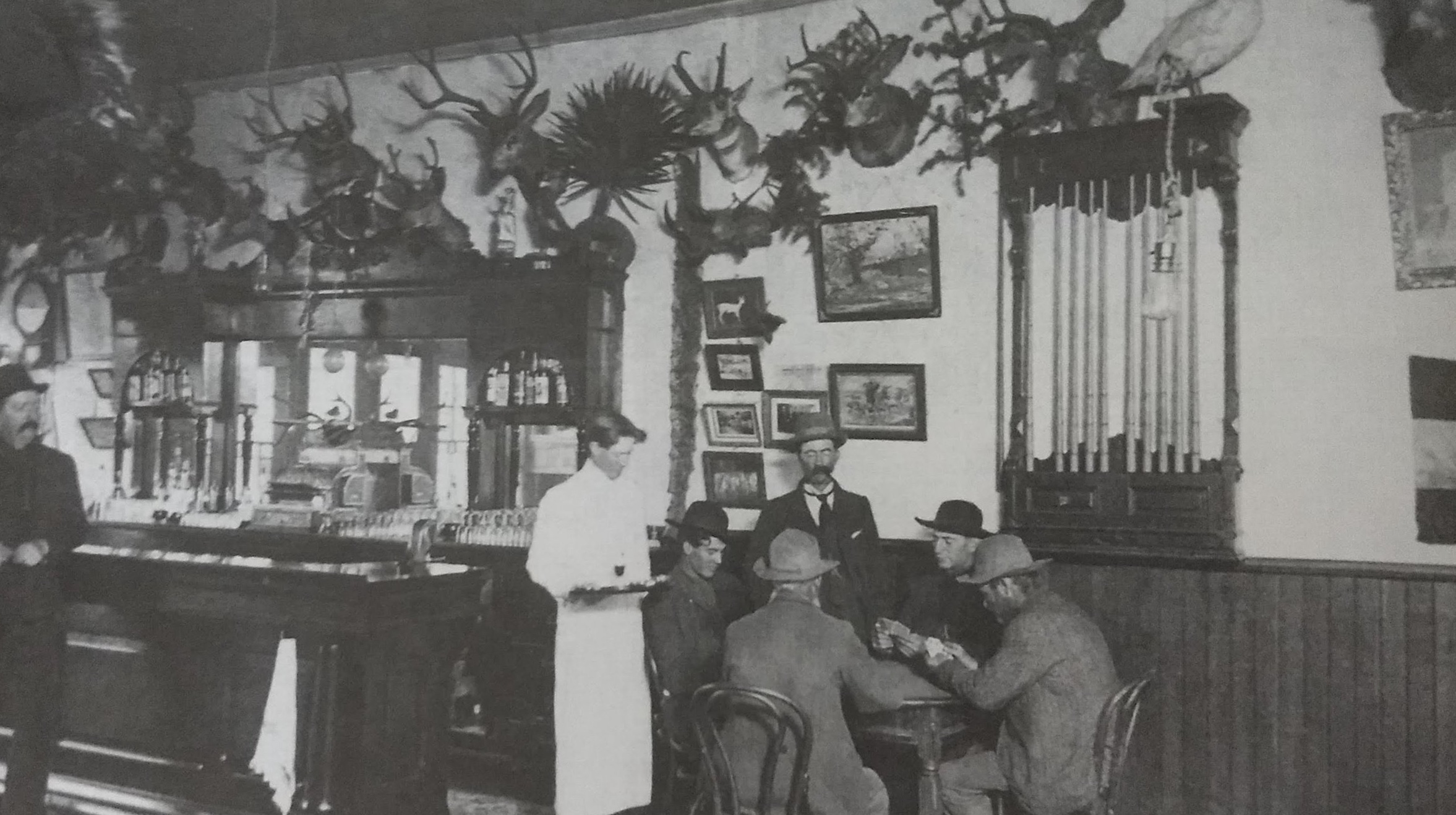 The original Buckhorn Saloon, pictured in 1903.