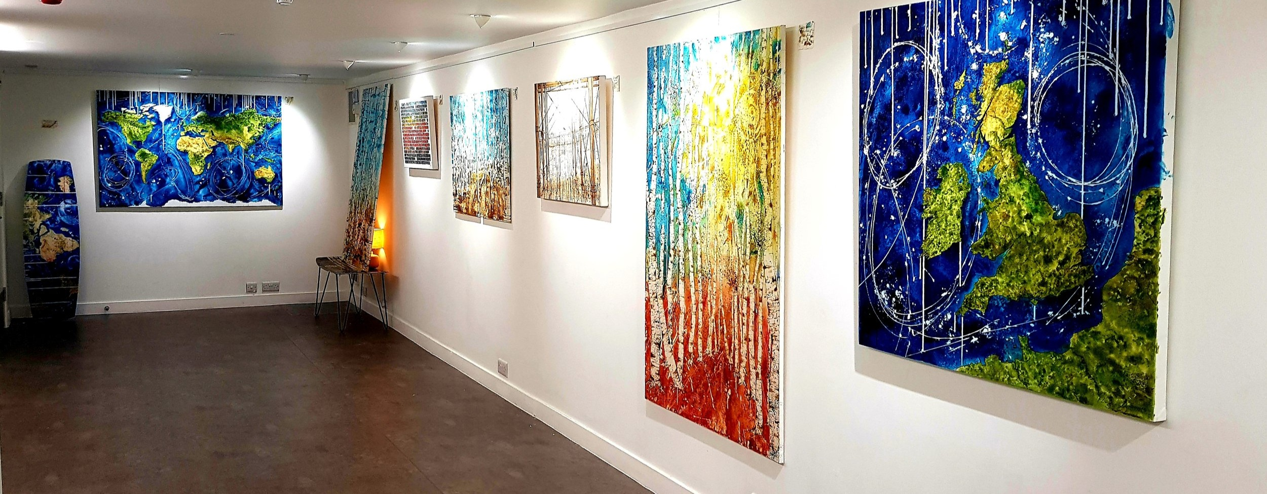 My solo show at DC1 Gallery in Seaside Road Eastbourne was on display throughout March.