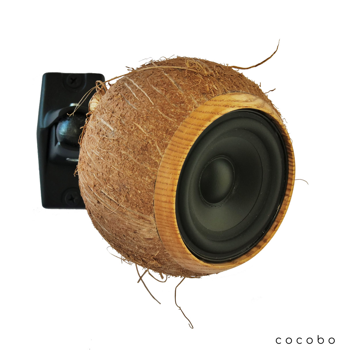 Cocobo natural coconut speaker wall mounted