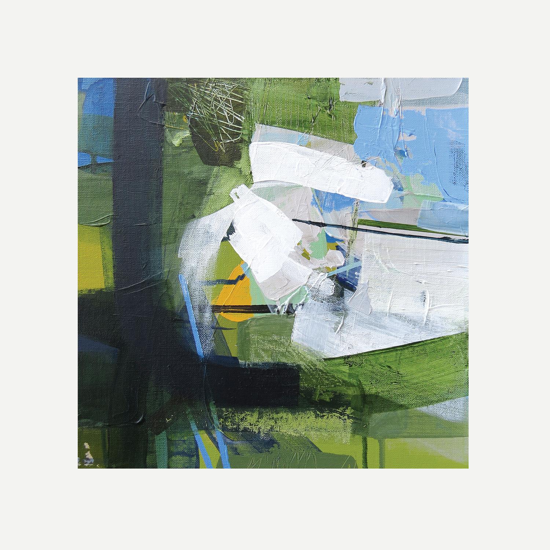 BLUE EYES Acrylic on canvas 30x30cm