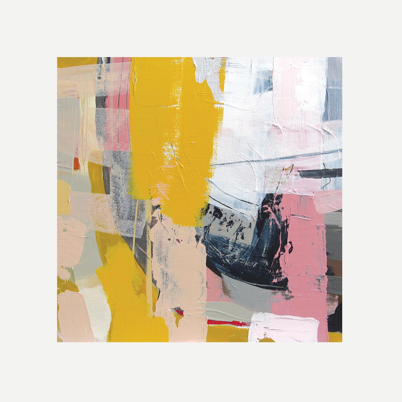 NUMBER TWELVE Acrylic on canvas 30x30cm