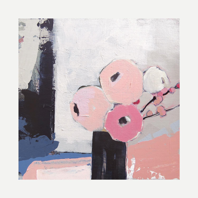 POSY Acrylic on canvas 30x30cm