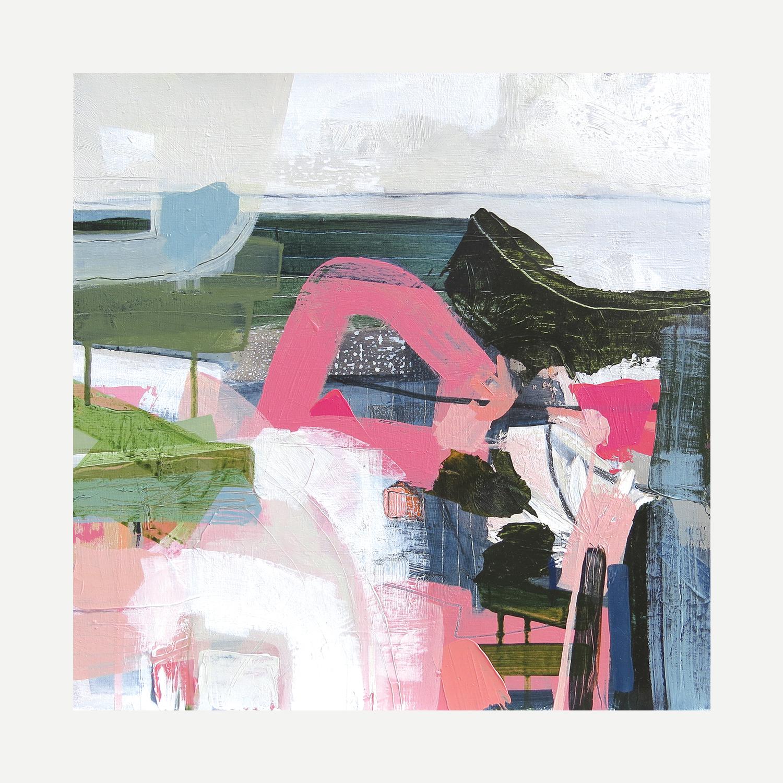 GOZO Mixed media on canvas 40x40cm