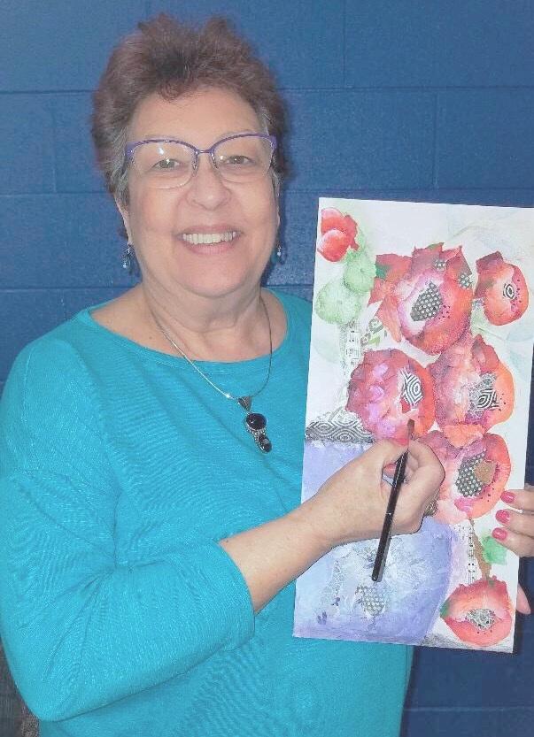 Alabama painting educator Chris Cruz