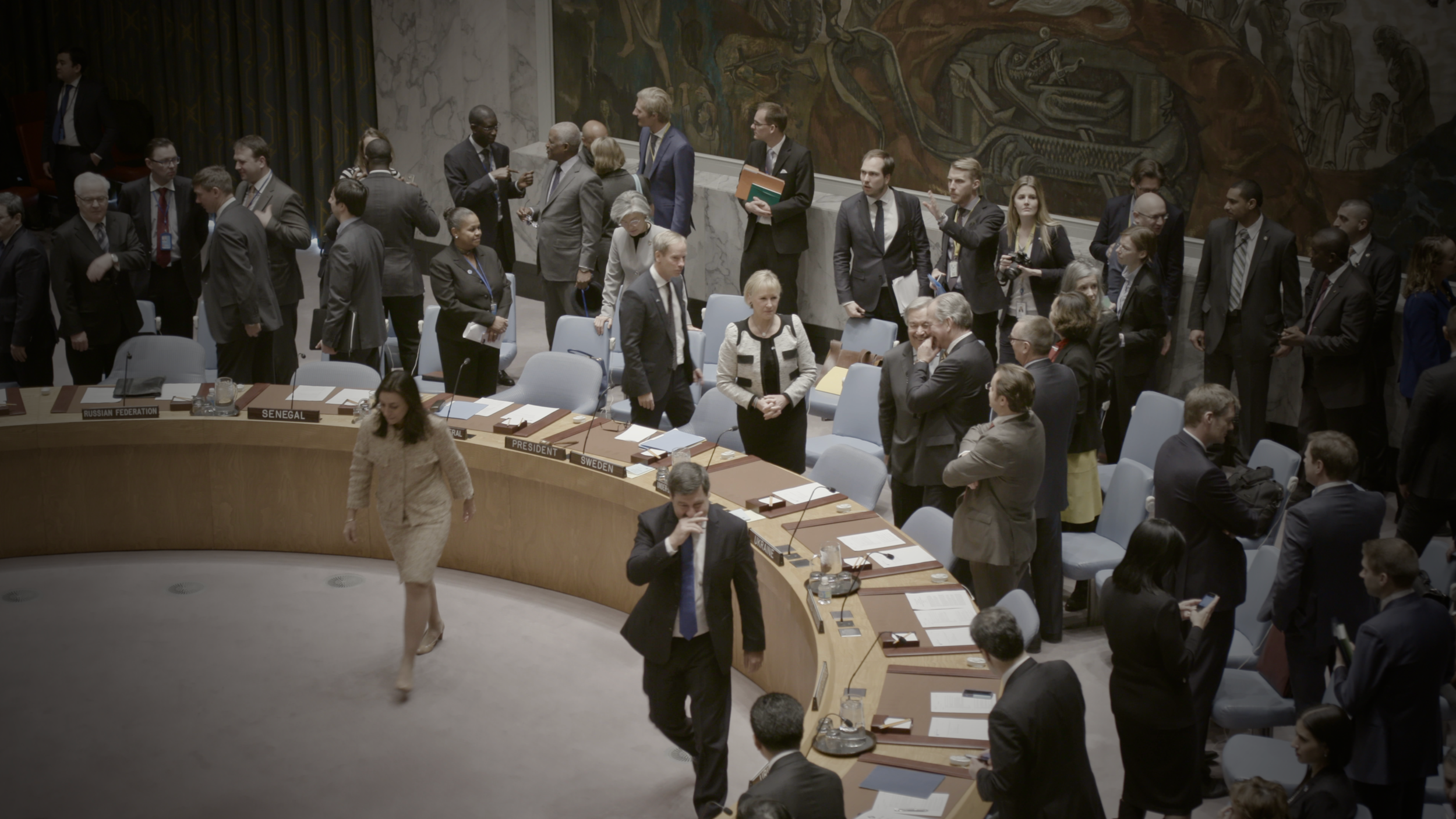 The United Nations Security Council