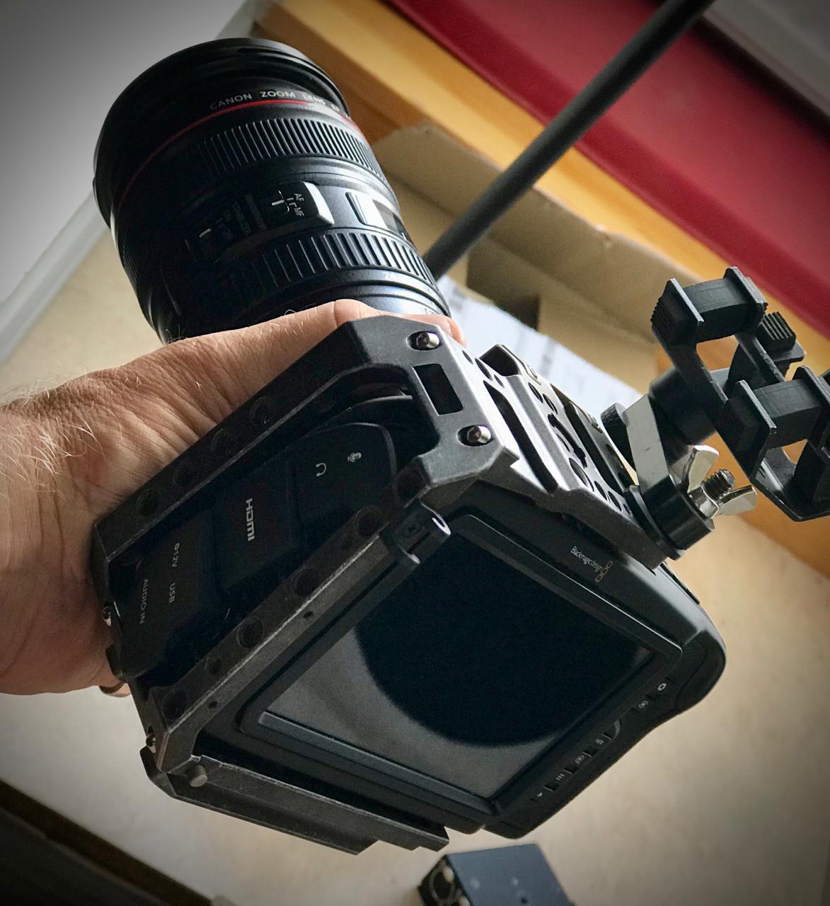 RAW Pro Res 4K - Black Magic Pocket Cinema Camera 4K with Tilta Cage and Metabones Speedbooster