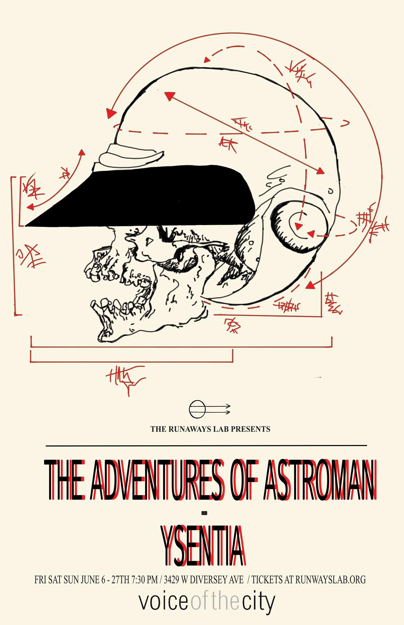 Astroman // Ysentia poster