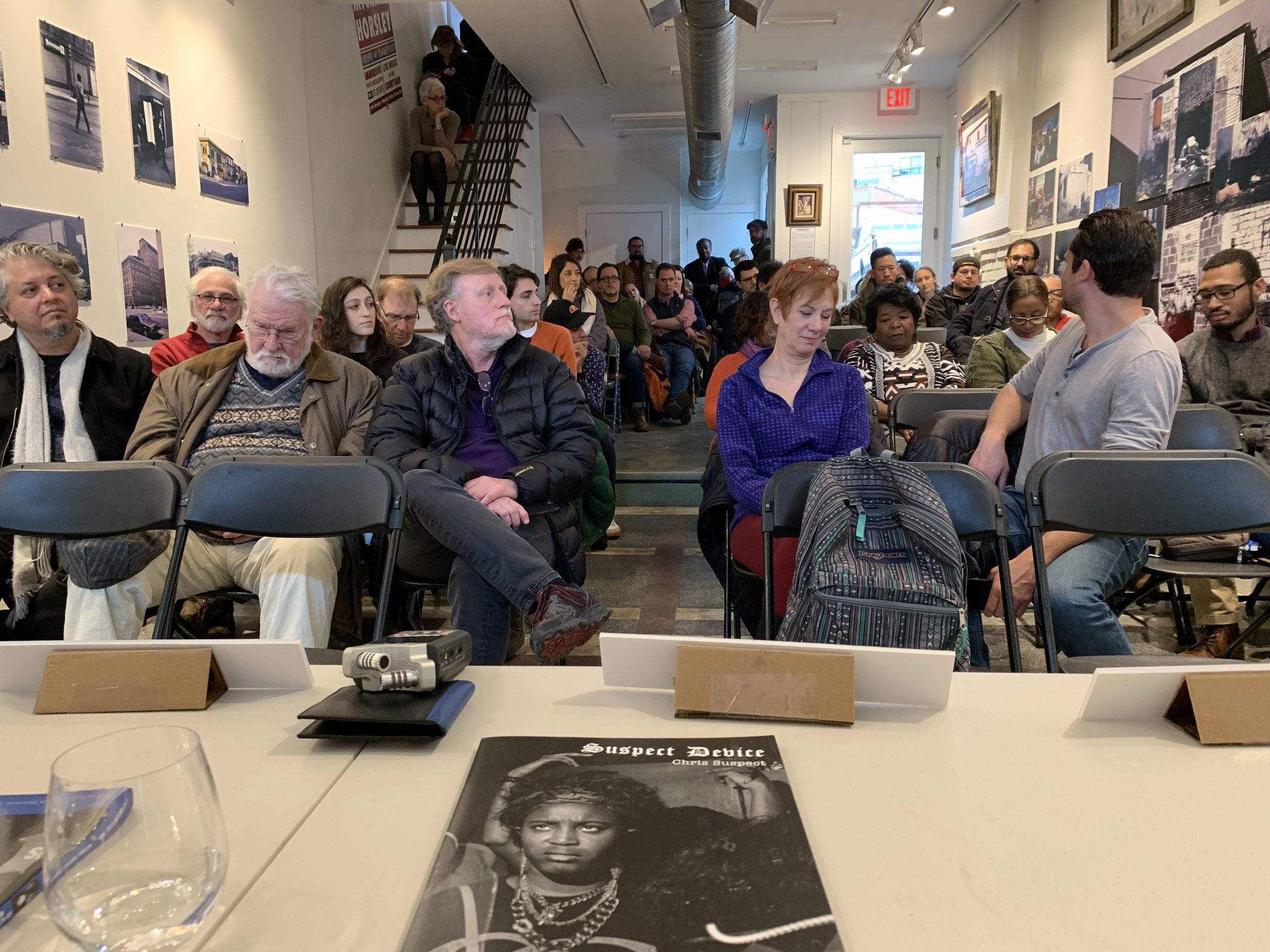 Audience at Gallery O on H, January 26, 2019 | © 2019 Chris Suspect