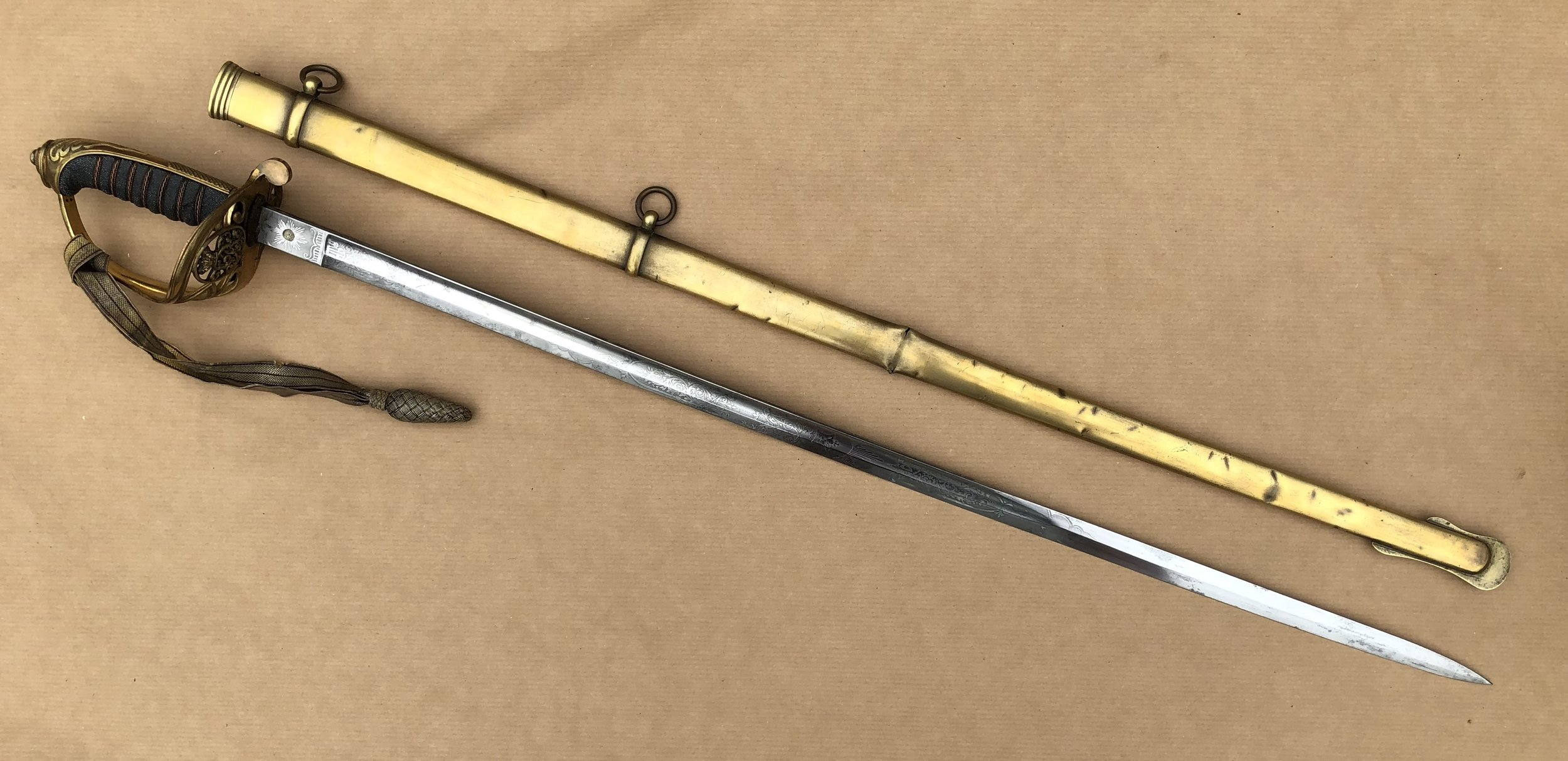 The British Regulation Sabre for Infantry Officers