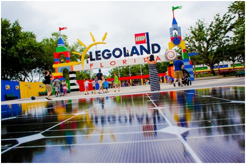 Legoland Florida Entrance (Photo Credit: Inhabitat.com)