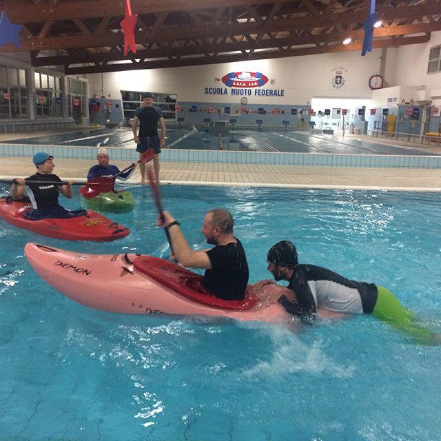 Corsi Kayak Primo Livello e gli intrepidi corsisti🤩🎉🤩