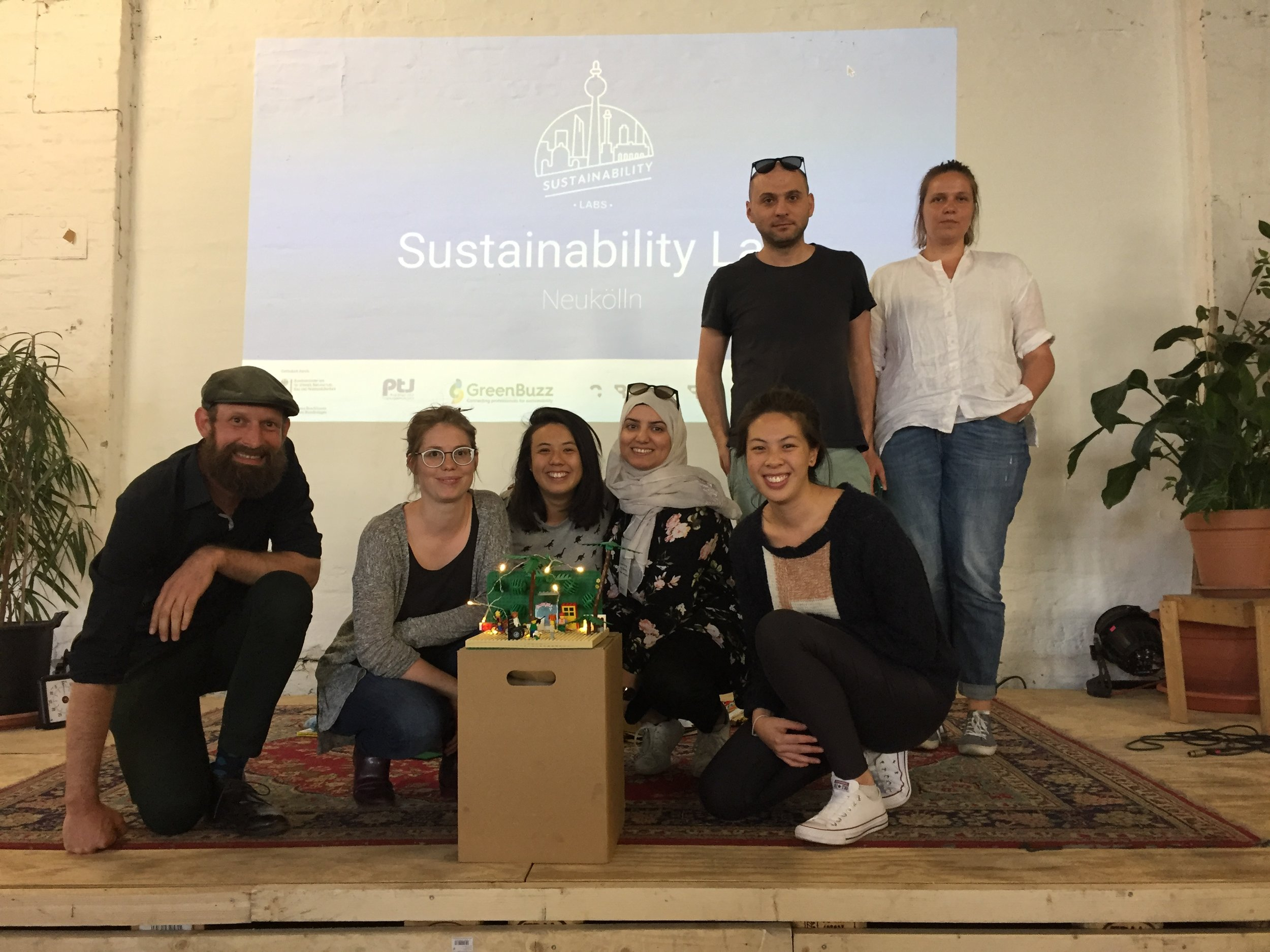 Different challenges during the Sustainability Labs series.