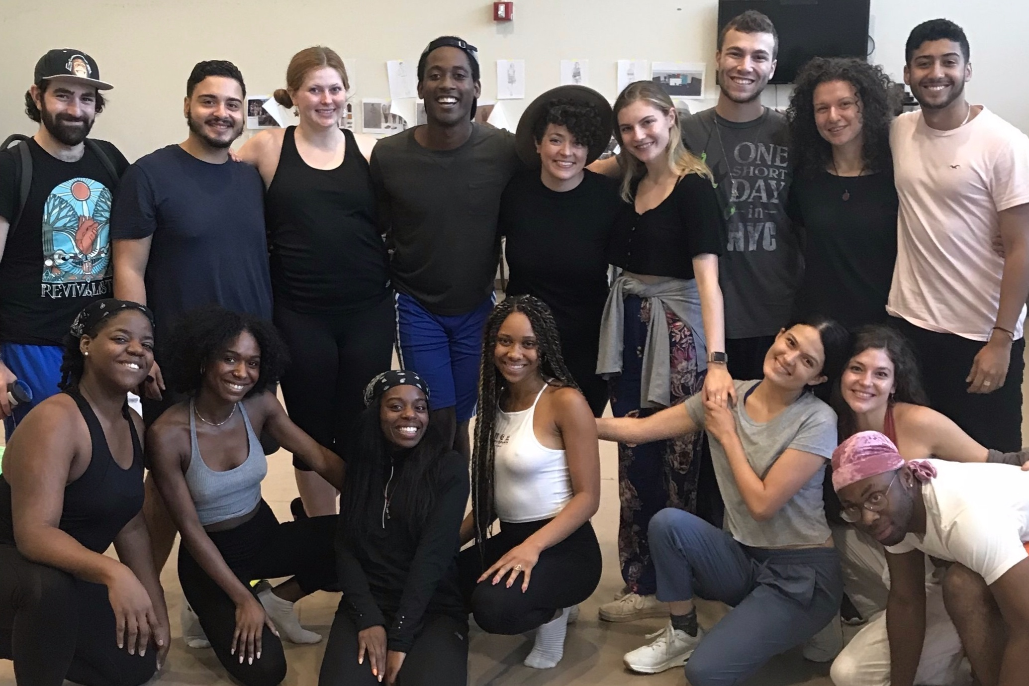 Thorn & Petal with the Senior Class of the SUNY Purchase College BFA Acting Program (Class of 2020) September, 2019 (Photo Credit: Pamela Prather)
