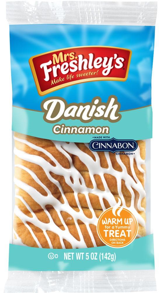 Cinnabon Cinnamon Danish