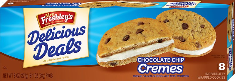 Chocolate Chip Cremes