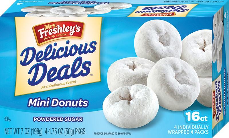 Sugar Mini Donuts