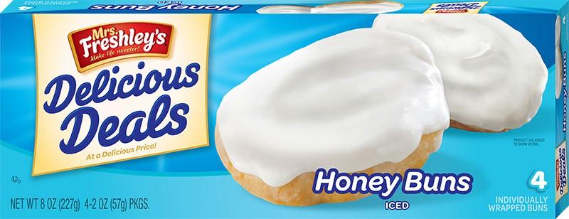 Iced Honey Buns