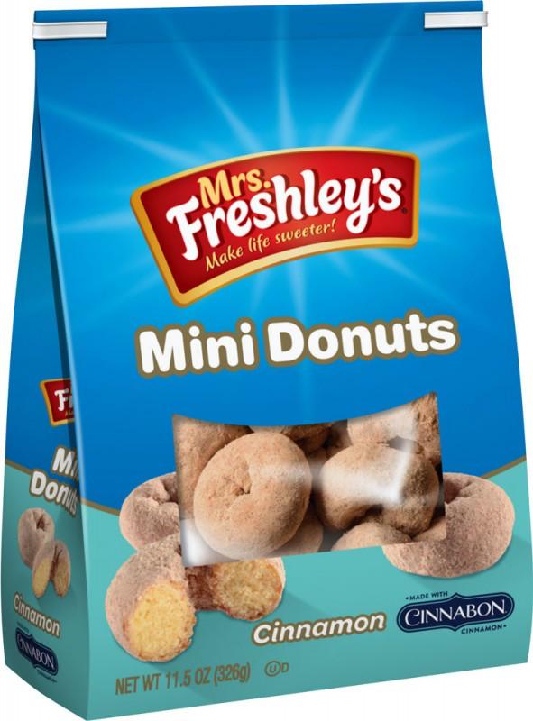 Cinnabon Cinnamon Mini Donuts Bag