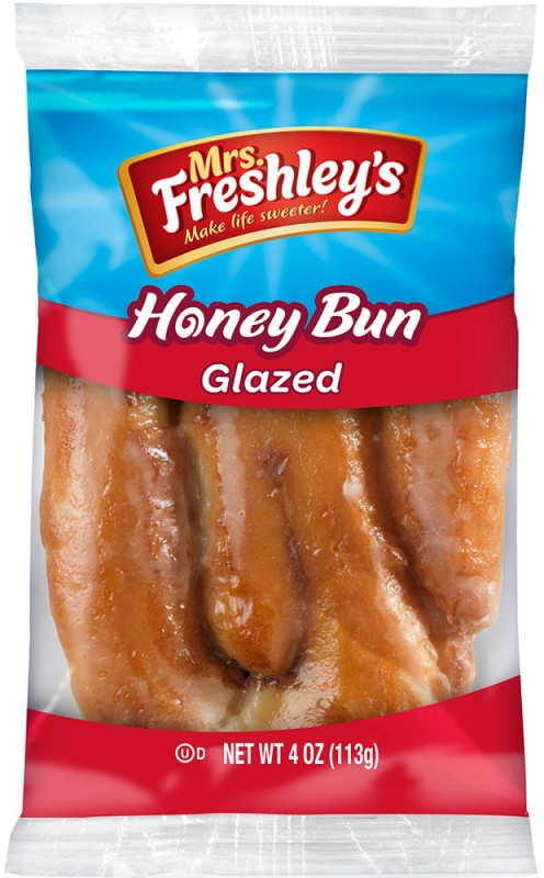 Glazed Honey Bun 4oz