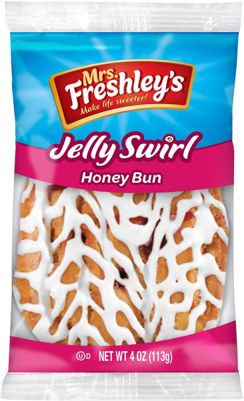 Jelly Swirl Honey Bun