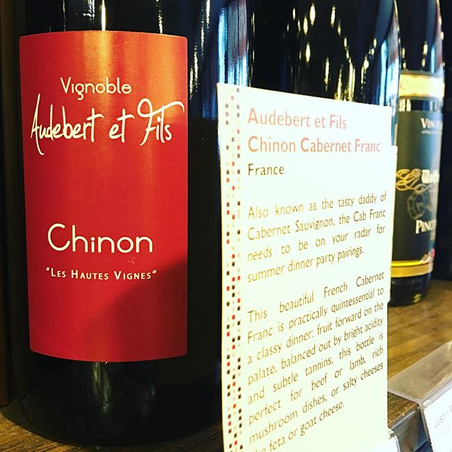 Yup, gotta love that Cab Franc !! . #cabfranc #chinon #wine #winewednesday #redwine #drinkme #loirewines #chinoncabfranc #vancouverwine #delicious #sogood