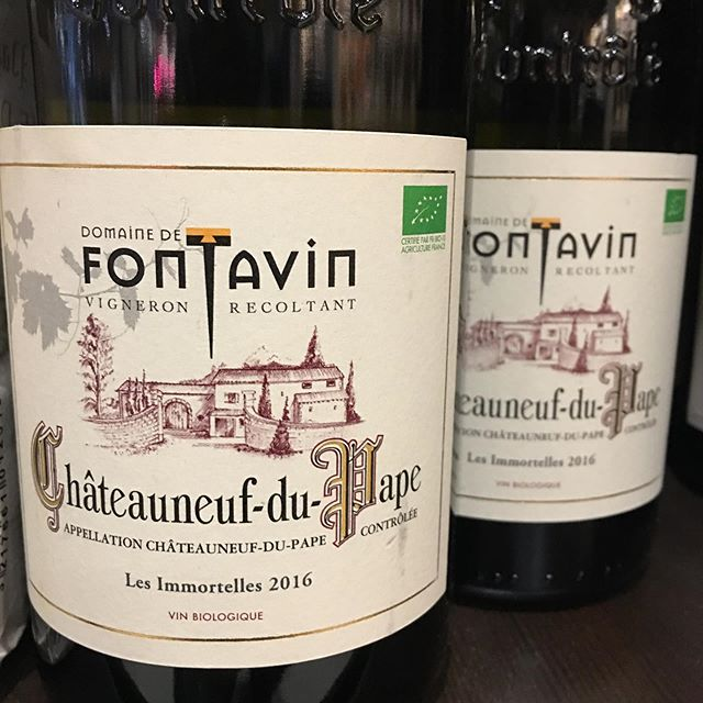 Looking for something to blow your mind.... Chateuaneuf Du Pape Blanc from Domaine de Fontavin. 😍😍😍 wow for #winewednesday . Only 5% of the wine produced in this Aoc is Blanc and it's really really good when you find a high quality domaine. Check it out @ewinebc @riverdistrict or other loca@wine shops in #bc. #explorewine #blanc #cdp #frenchwine #chateauneufdupape #winenight #winelover #wines