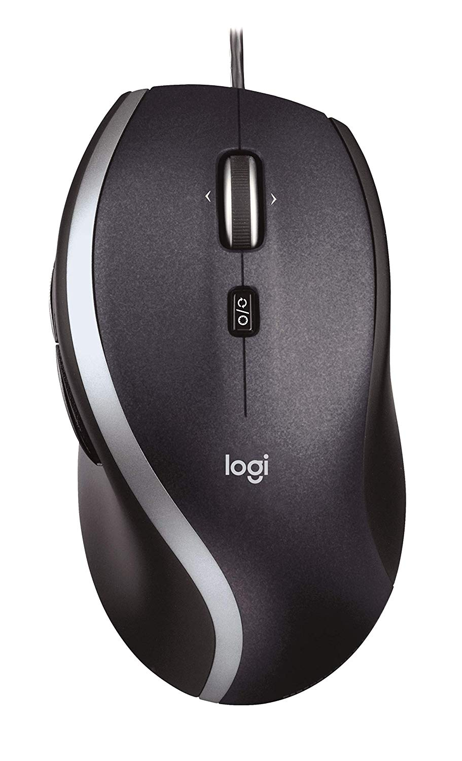Logitech M500 Corded Mouse for PC - Wired USB Mouse for Computers and Laptops, with Hyper-Fast Scrolling, Dark Gray. Works right out of the box.