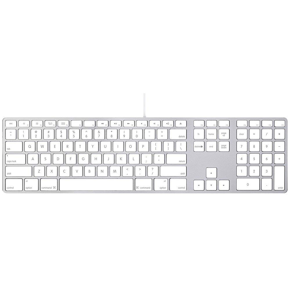 Apple Aluminum Wired Keyboard MB110LL/A (Refurbished) - Product works and looks like new. Comes with a 90-day warranty.Renewed products are pre-owned products not Apple certified but have been inspected and tested by Amazon-qualified suppliers. Box and accessories may be generic. All products on Amazon Renewed come with a minimum 90-day supplier-backed warranty.