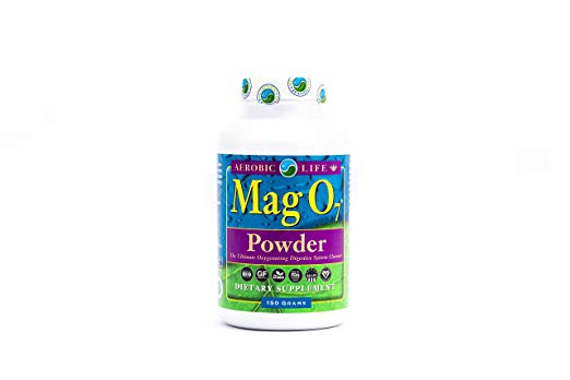 Aerobic Life Mag 07 Oxygen Detox Cleanse Powder - Mag O7 detox cleanse powder releases oxygen that travels the digestive tract supporting healthy bacteria