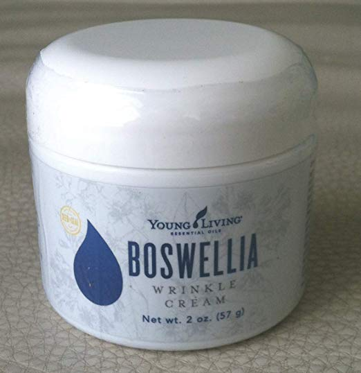 Boswellia Wrinkle Cream 2 Oz by Young Living Essential Oils - Used daily, Boswellia Wrinkle Creme will minimize and PREVENT wrinkles on the face and neck. Contains the Essential Oils of Frankincense, Sandalwood, Myrrh, Geranium, and Ylang ylang.