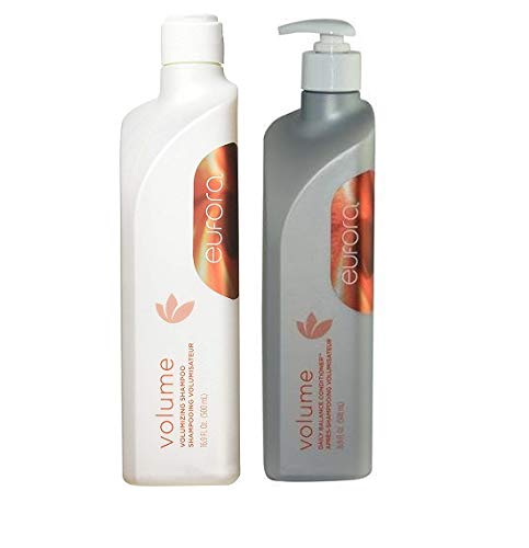 Eufora AD739 Shampoo and Volume Daily Balance Conditioner - Eufora Volume Shampoo 16.9 ozEufora Volume Daily Balance Conditioner 16.9 ozNoticeable volume, softness and shineInfuses hair with weightless moisture and vital nutrientsBalanced Proteins, Botanicals and Keratin Amino Acids