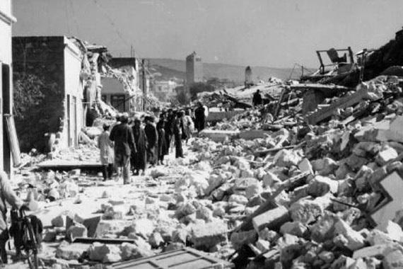 Le Sinistre tremblement de terre - Agadir 1960  © DR