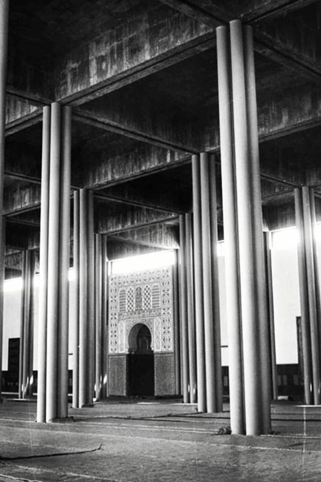 LENZ Hans-Joachim - La mosquée centrale, 1961