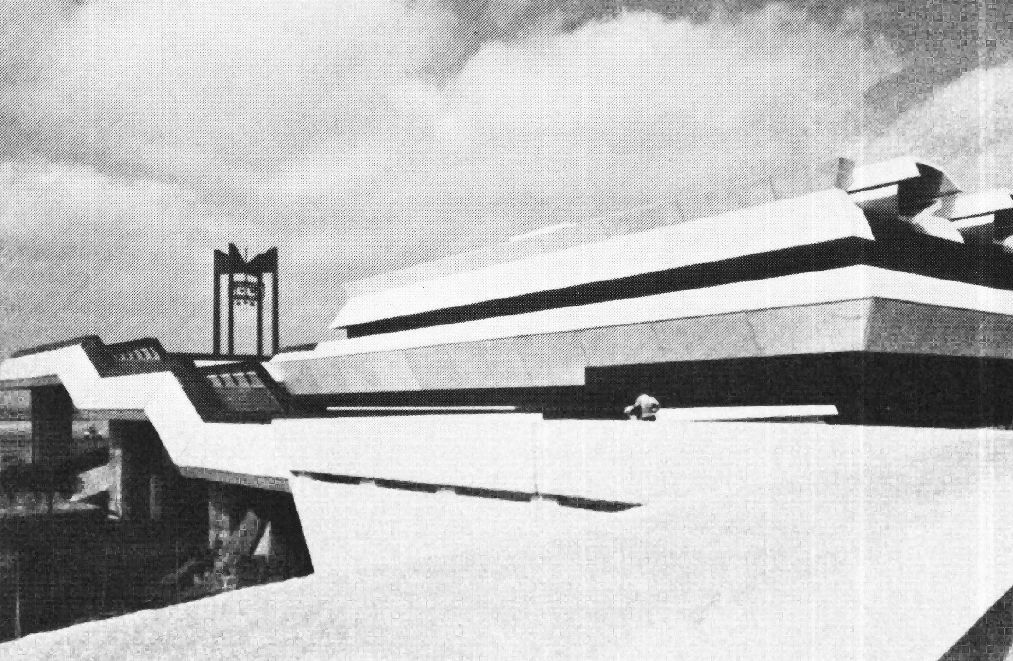 Extrait de: New Directions in African Architecture - Udo Kultermann  -   1969