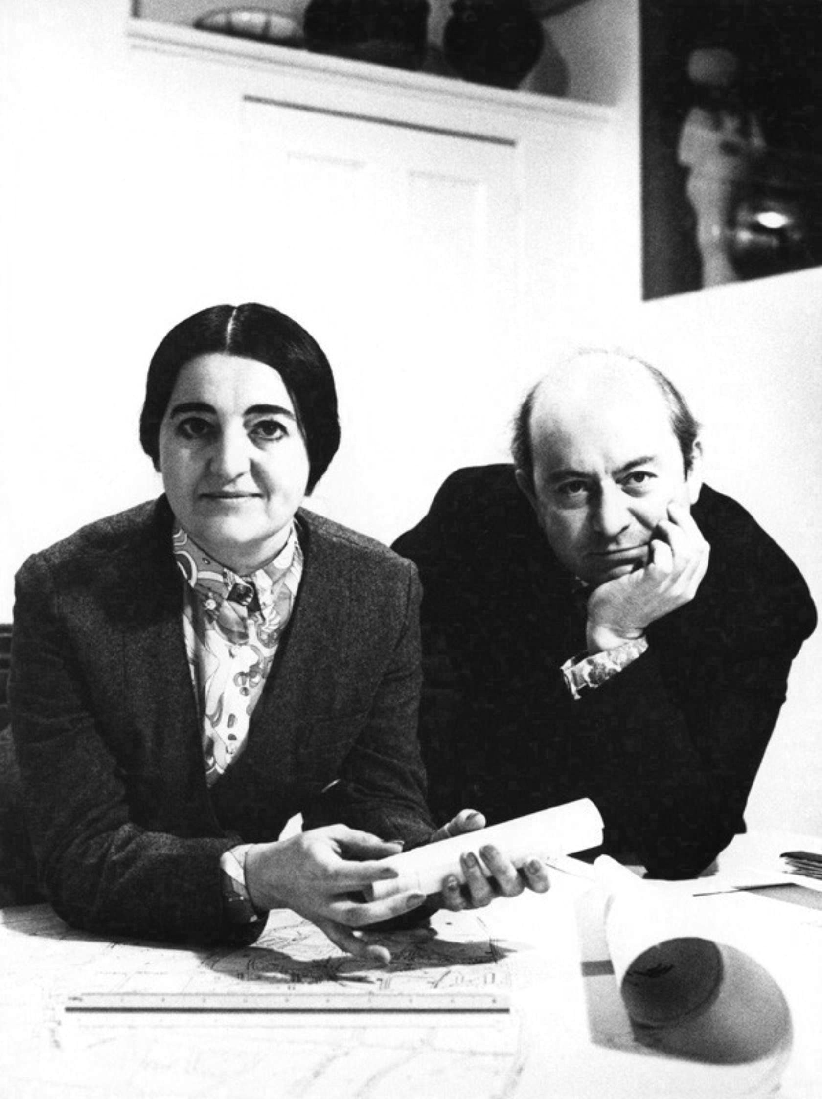 Alison et Peter Smithson  © Museumofbatharchitecture