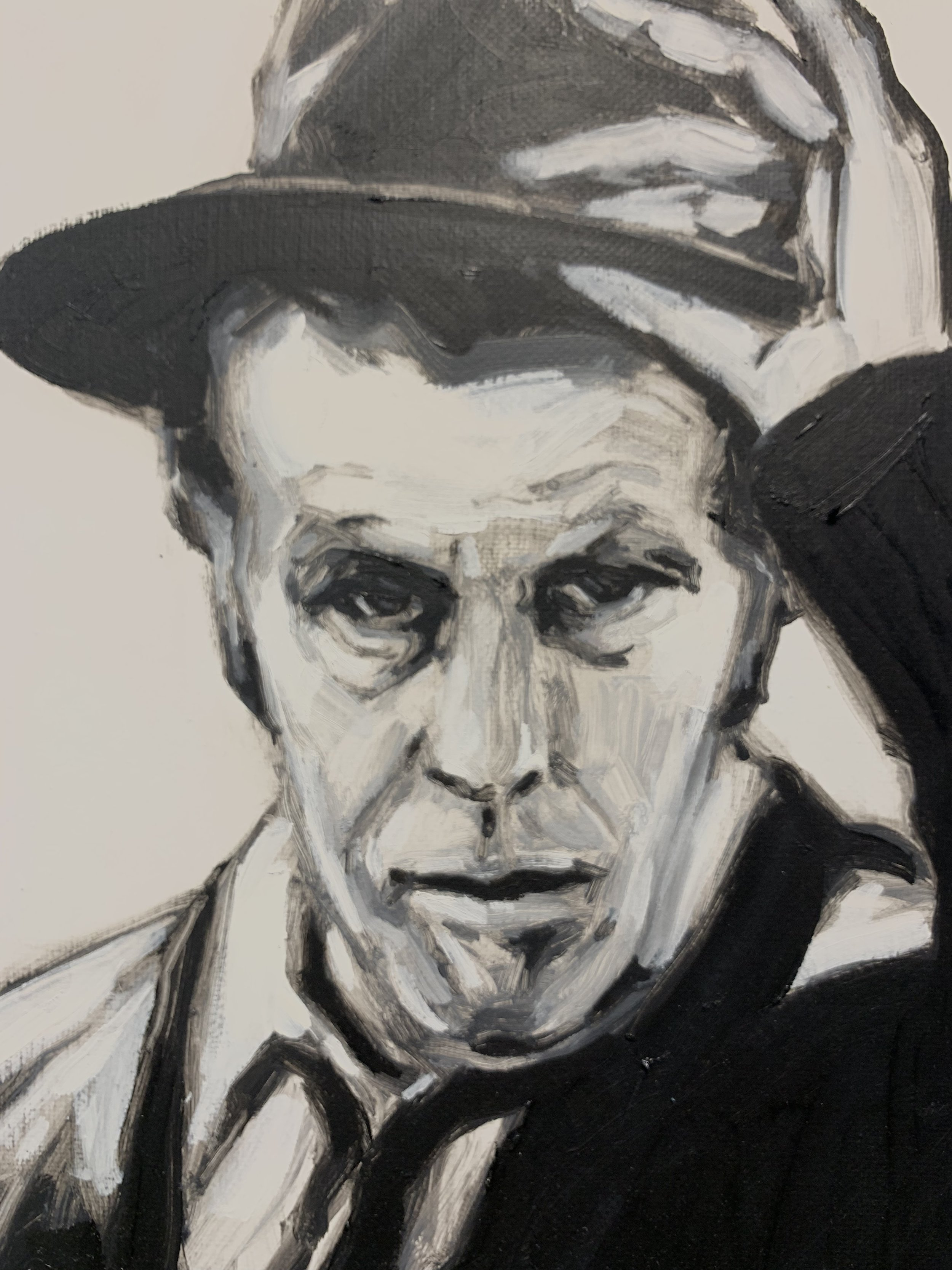 Tom Waits, by Thomas Cale