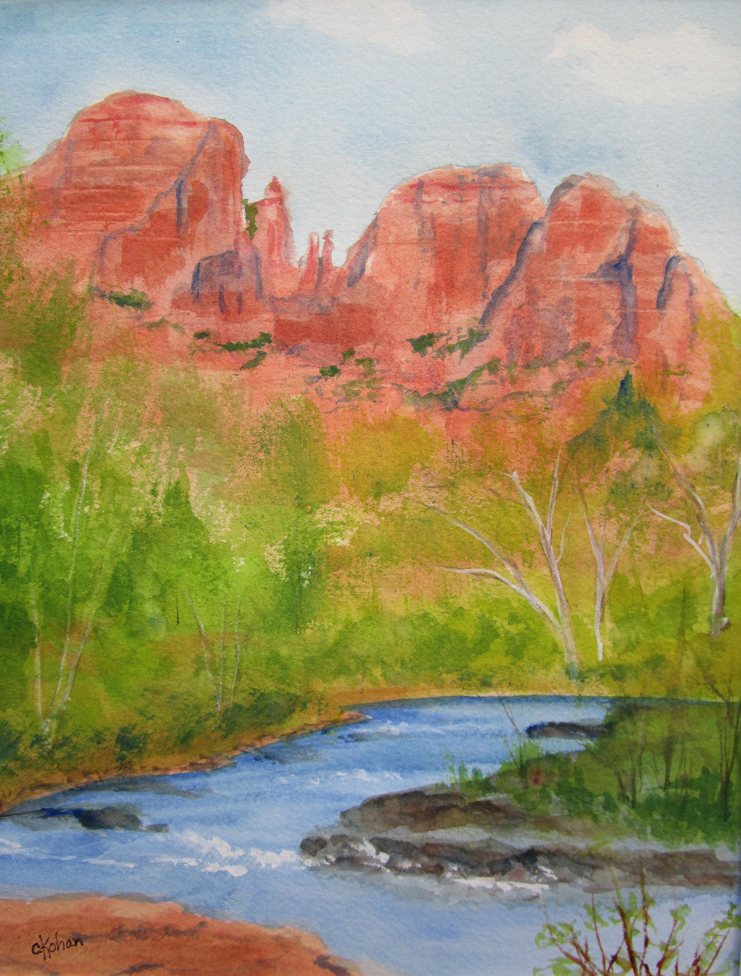 Cathedral Rock, AZ, by Carol Kohan