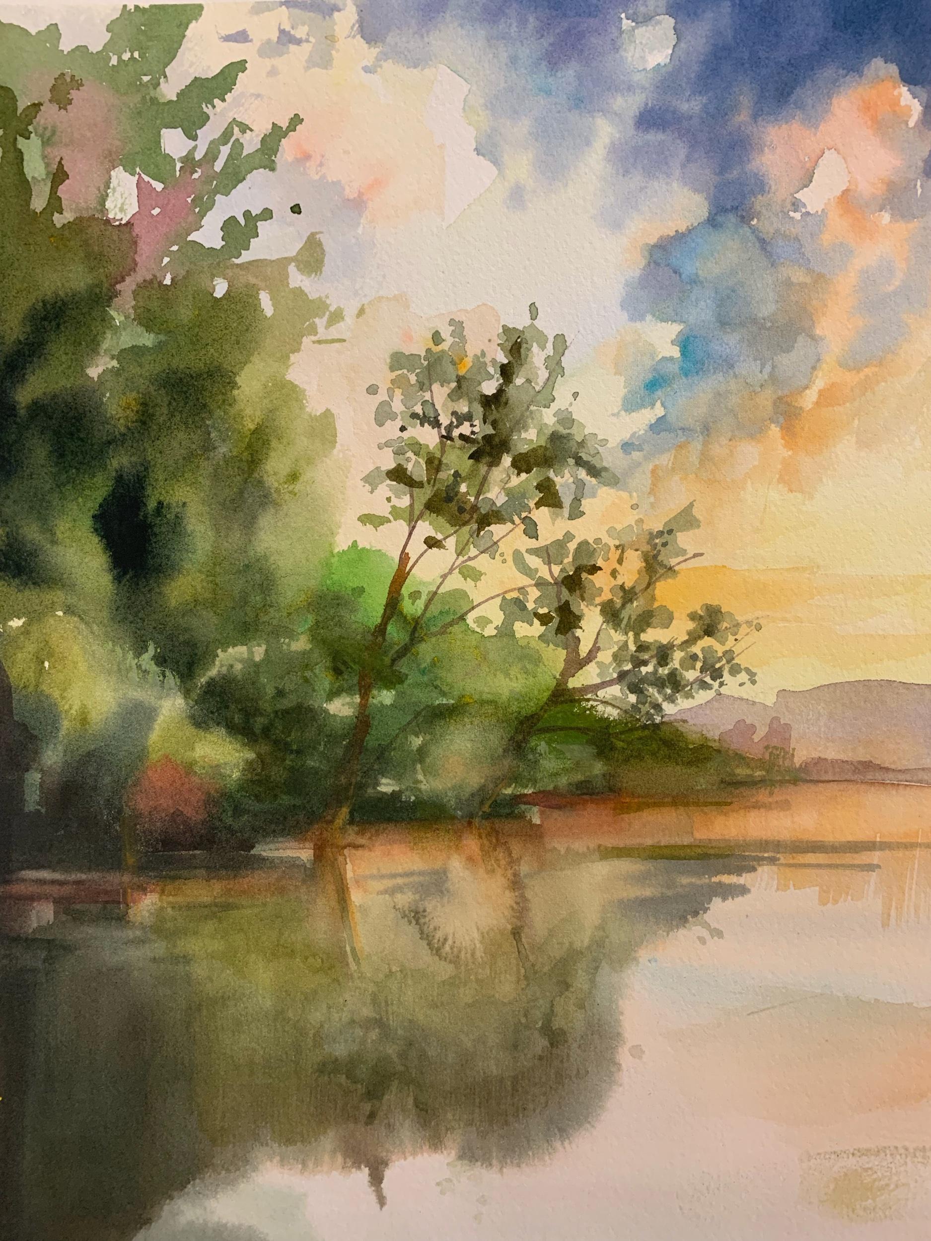 Betsy Jacaruso, watercolor