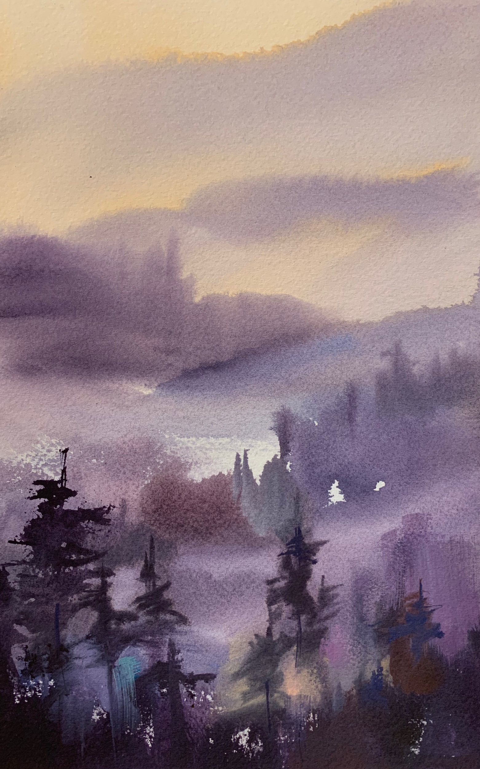 Violet Pines