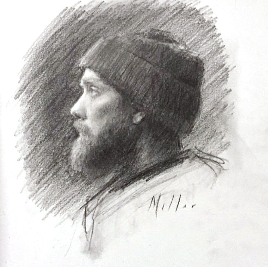 Charcoal Portraiture with Drew miller - Workshops