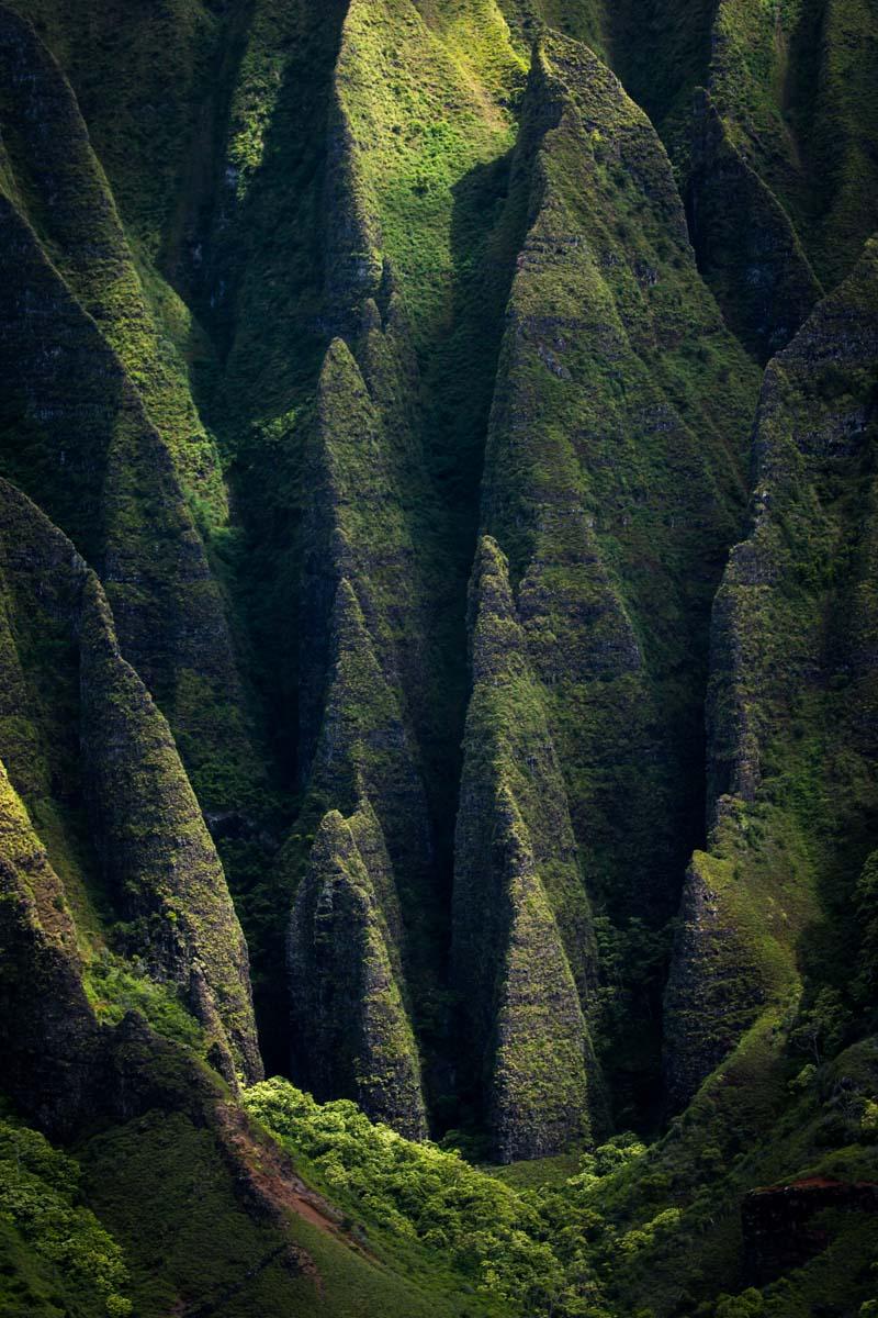 Beautiful fissures in Alaska