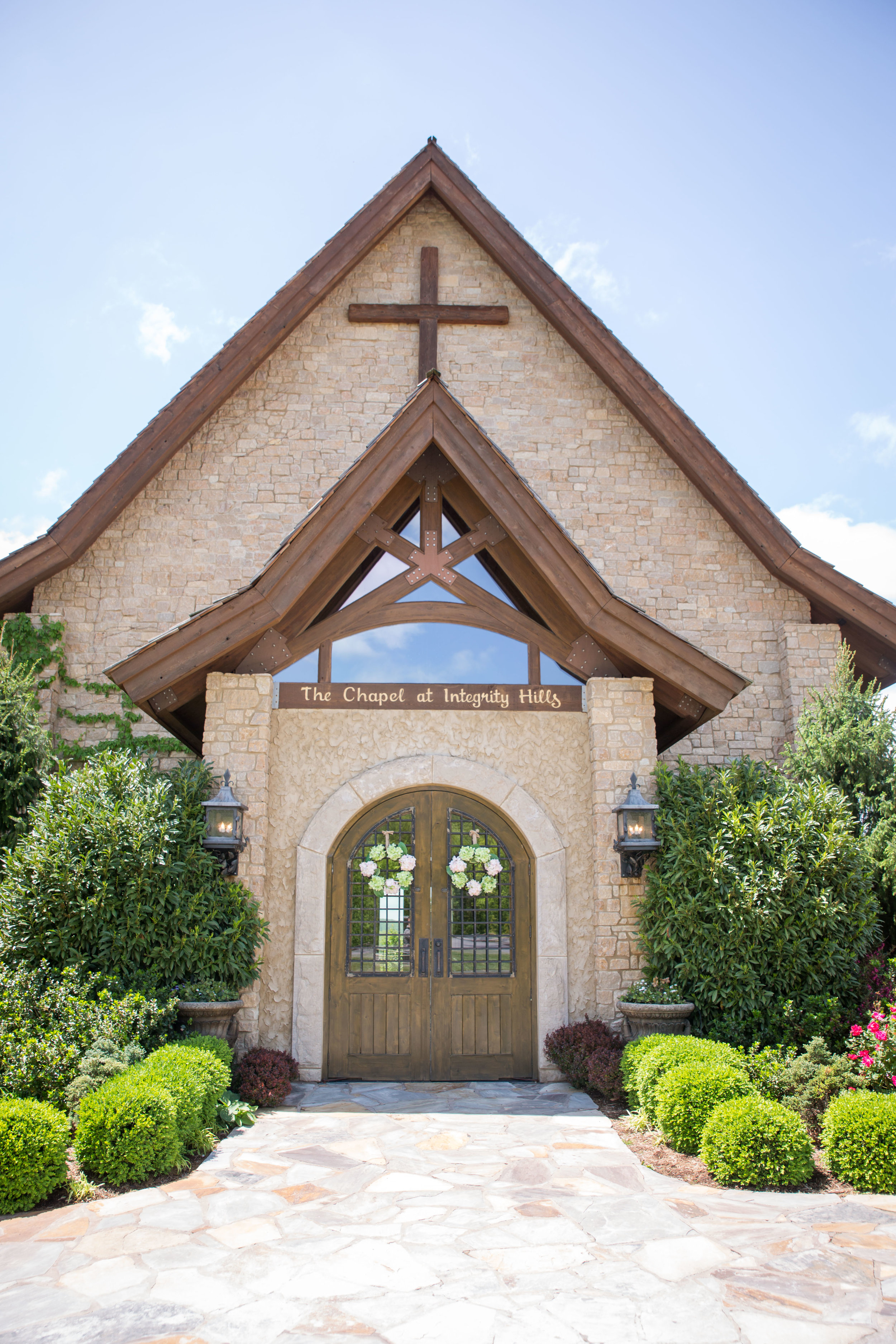 The chapel at Integrity Hills