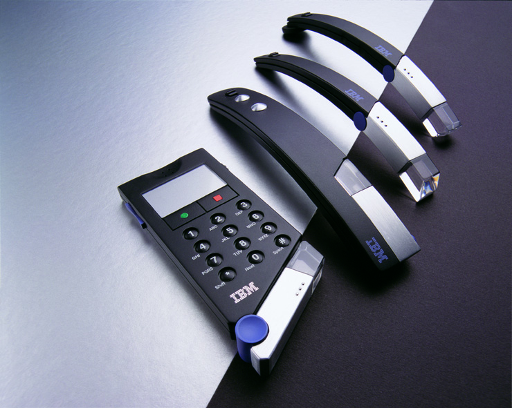 Some phones we did for IBM. Similar to the one you might use to give us a call!