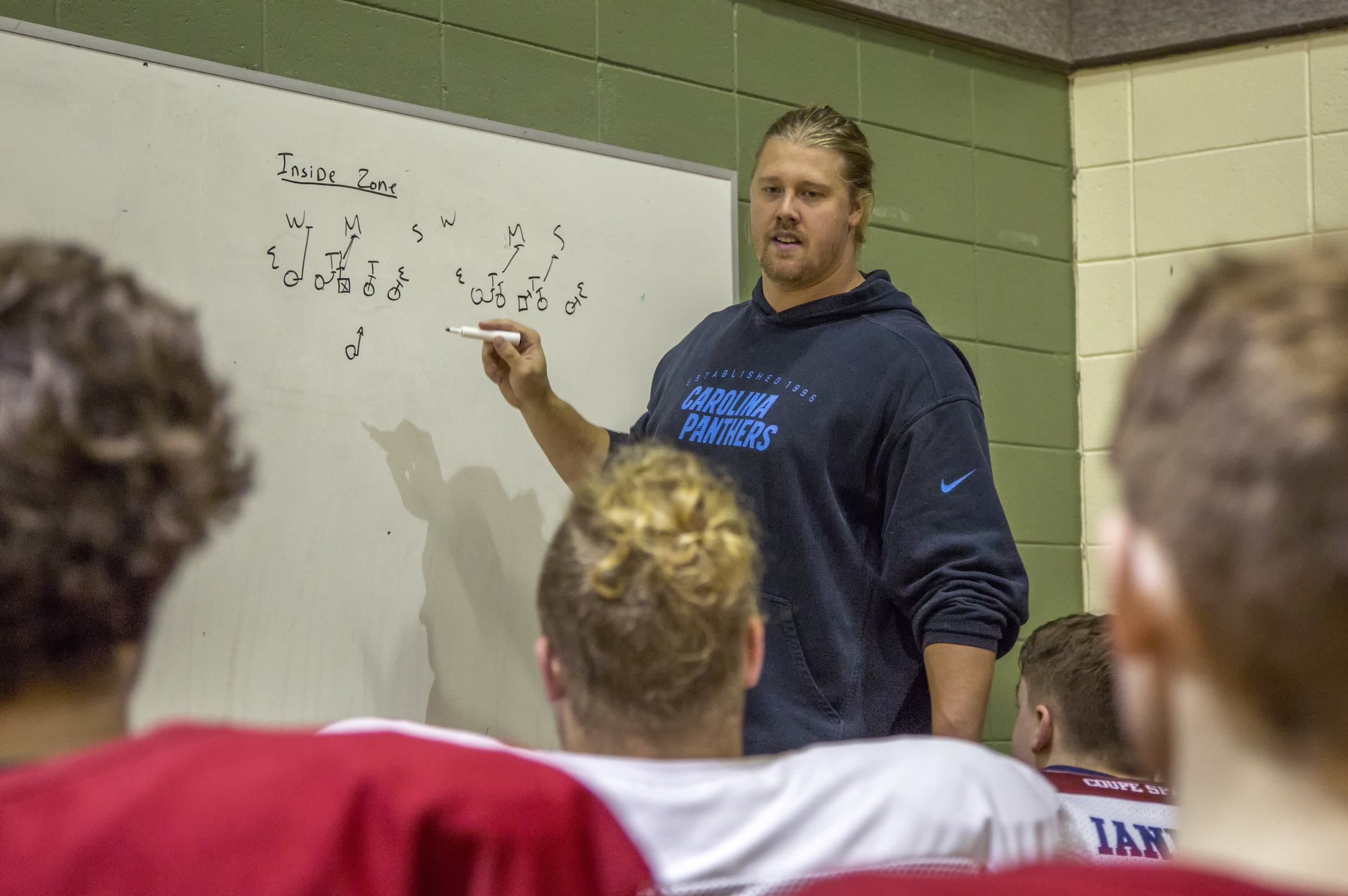 Youth Football Pro-Camp - With David Ménard CFL Lions and David Foucault CFL Lions and ex-NFL Panthers.