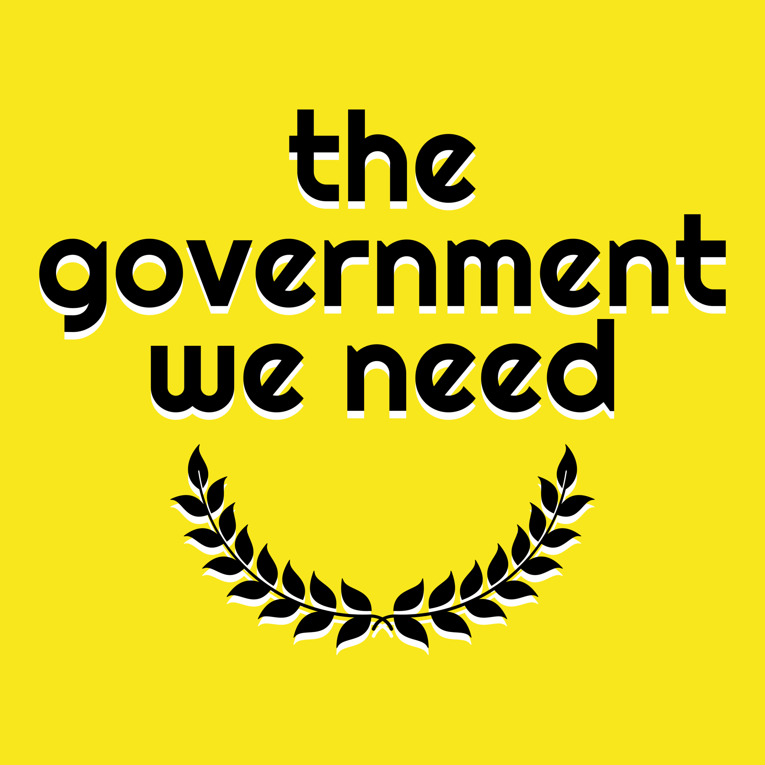 Check out the latest episode of my podcast, The Government We Need -