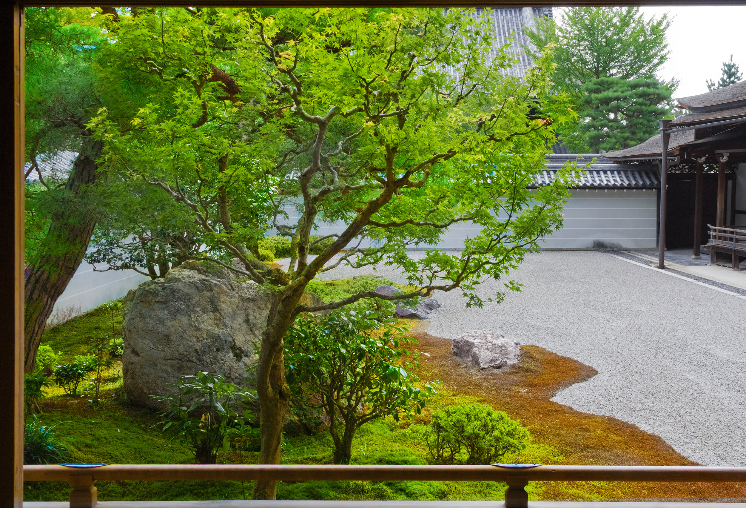 The Painting, Tenju-an, Kyoto, Color Photograph