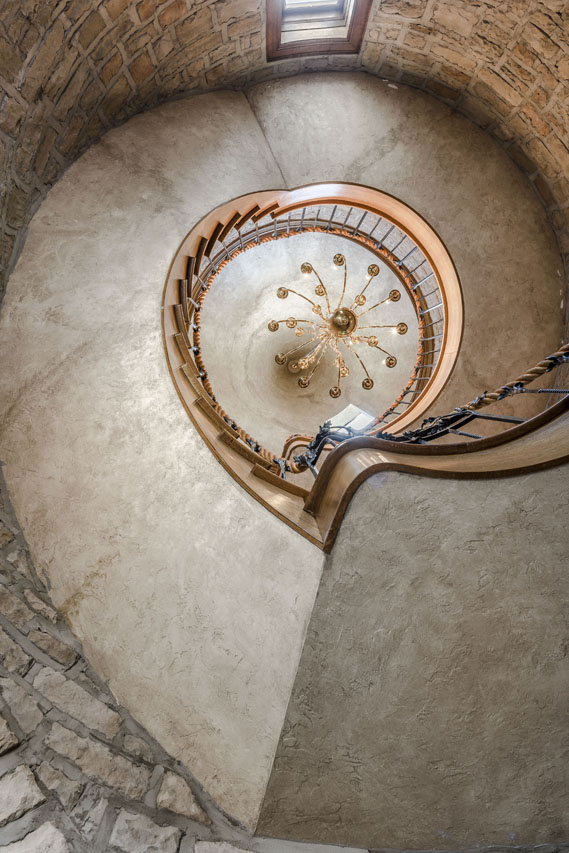Spiral stairwell inside Turret.jpg
